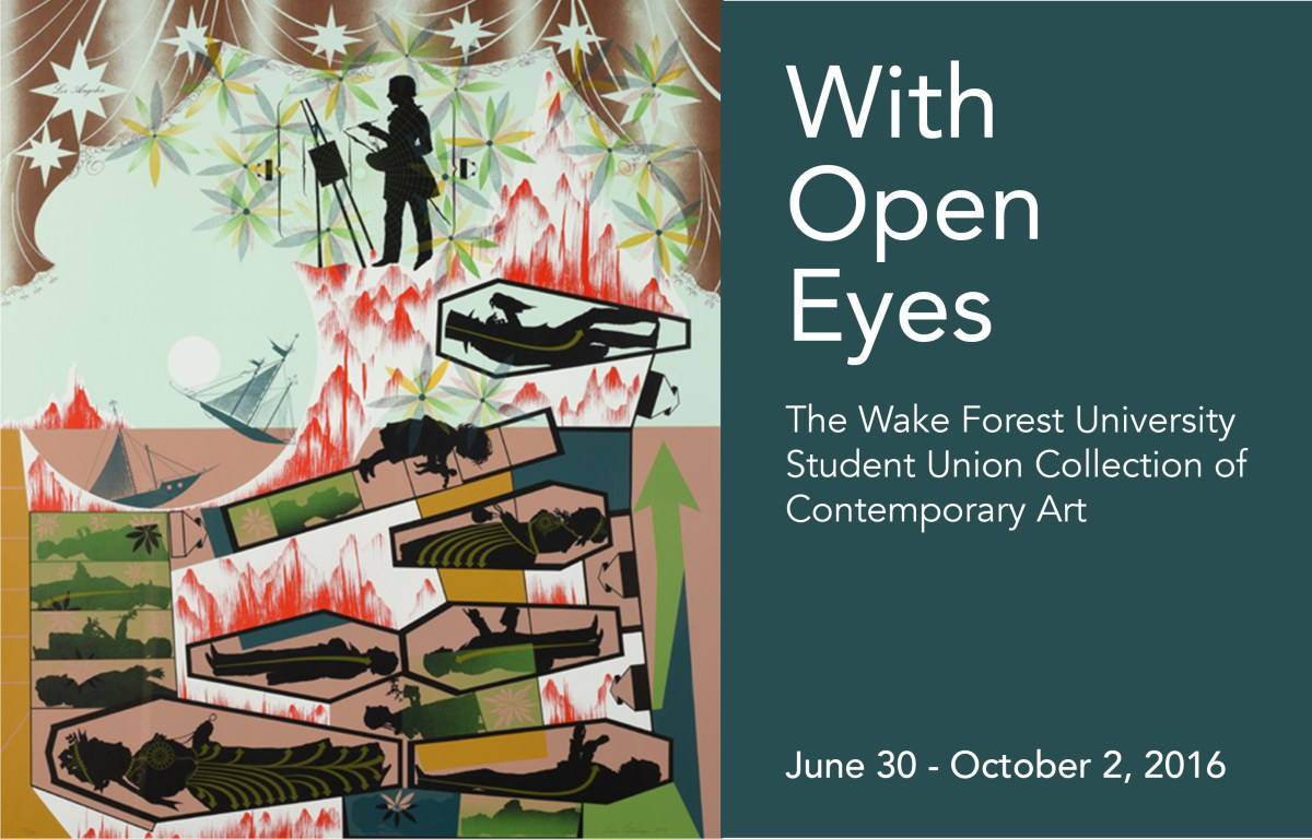 SECCA Presents WAKE FOREST UNIVERSITY STUDENT UNION COLLECTION OF CONTEMPORARY ART