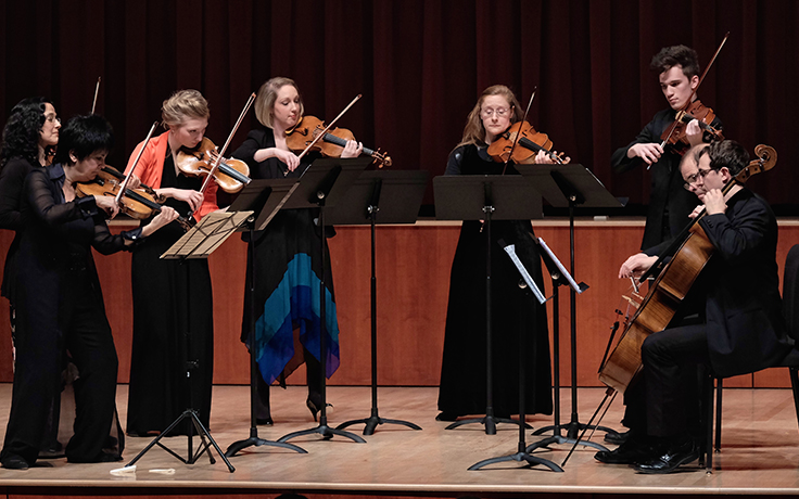 Chrysalis Chamber Music Institute: Teachers with Students