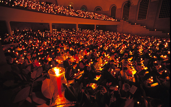 Christmas Lovefeast at Wake Forest University