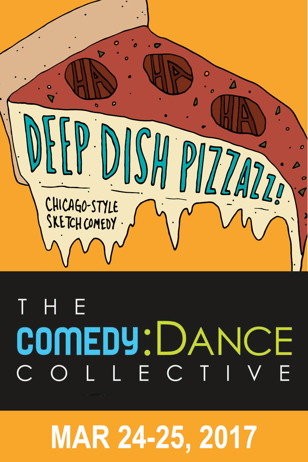 Deep Dish Pizzazz: Chicago-Style Comedy!