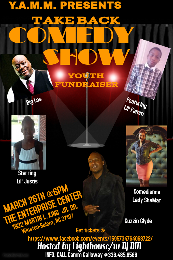 Take Back Comedy Show Fundraiser