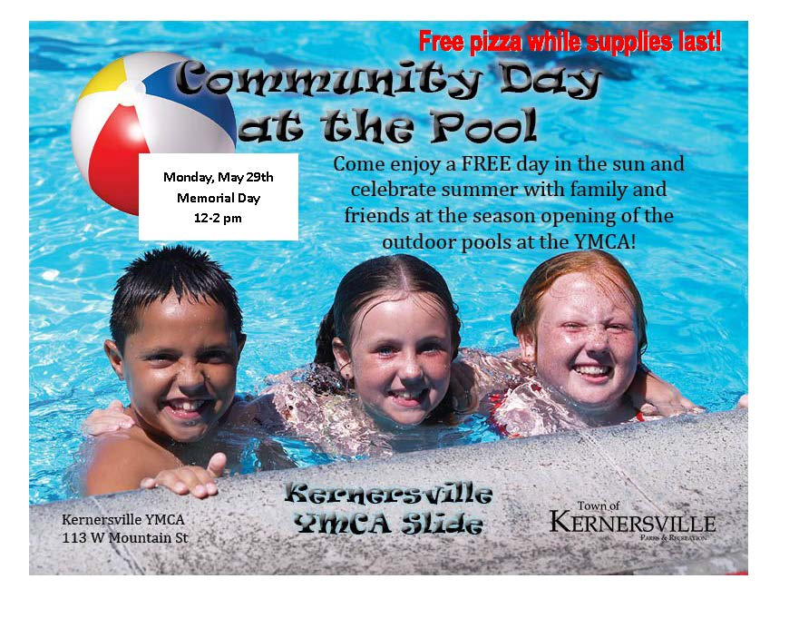 Community Day at the Pool