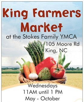 King Farmers' Market at the YMCA