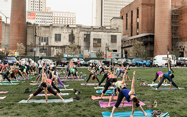 Sunset Salutations: Yoga at Bailey Park