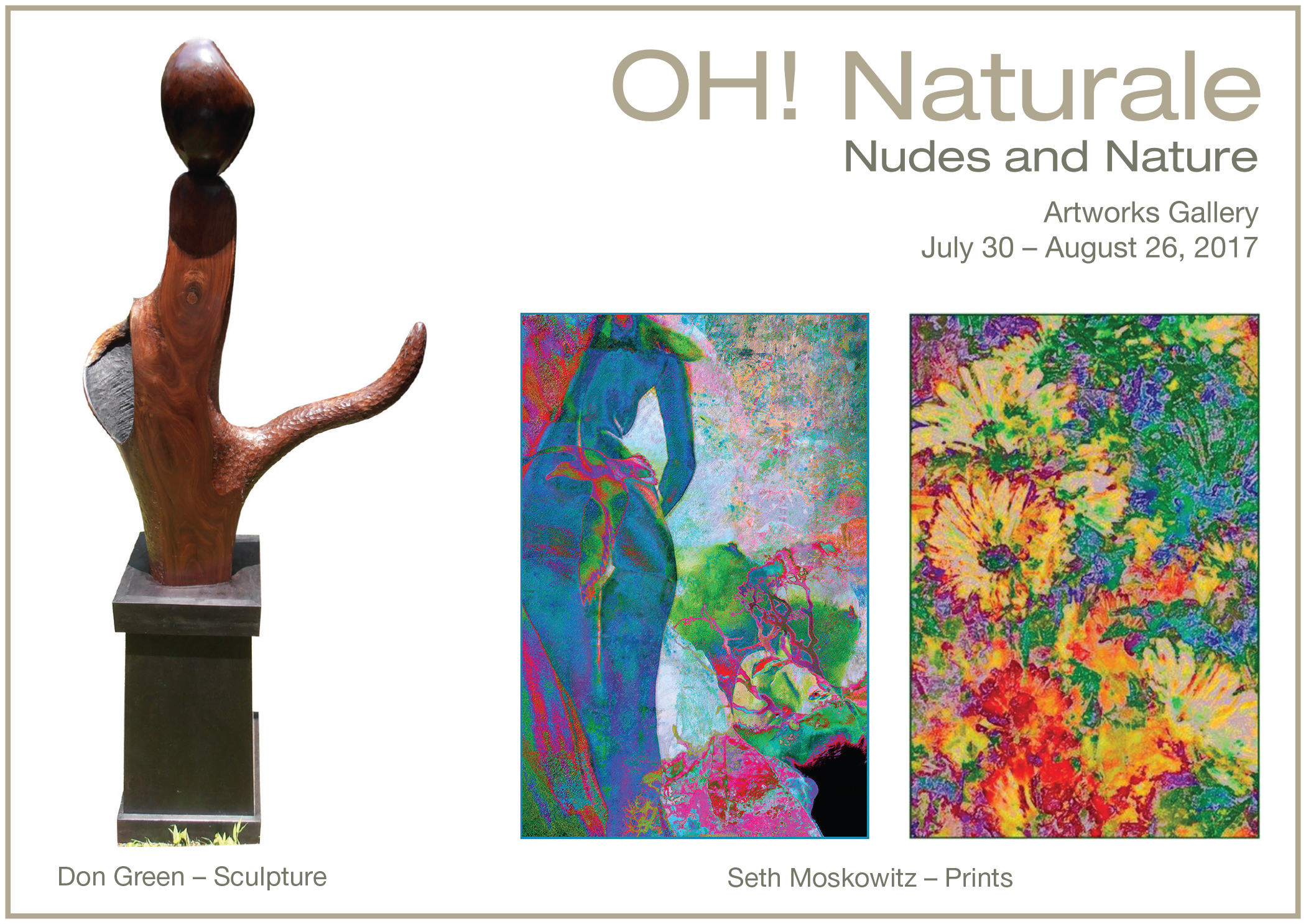 OH! Naturale: Nudes and Nature