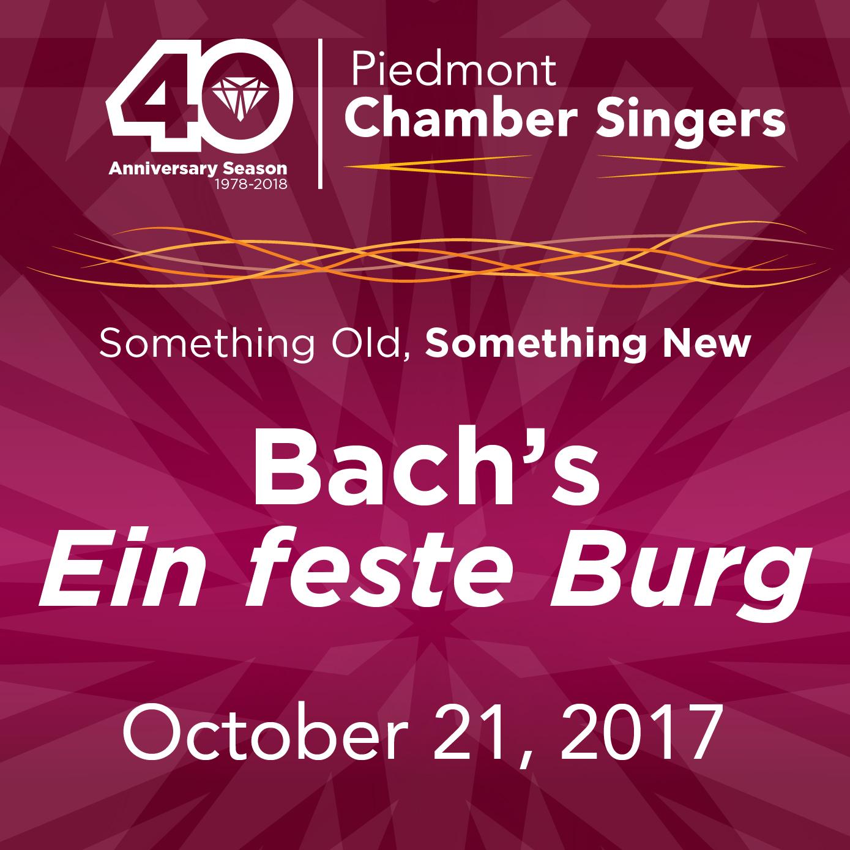 Something Old, Something New: Bach's Ein feste Burg