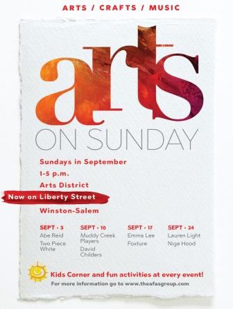 Arts On Sunday Series