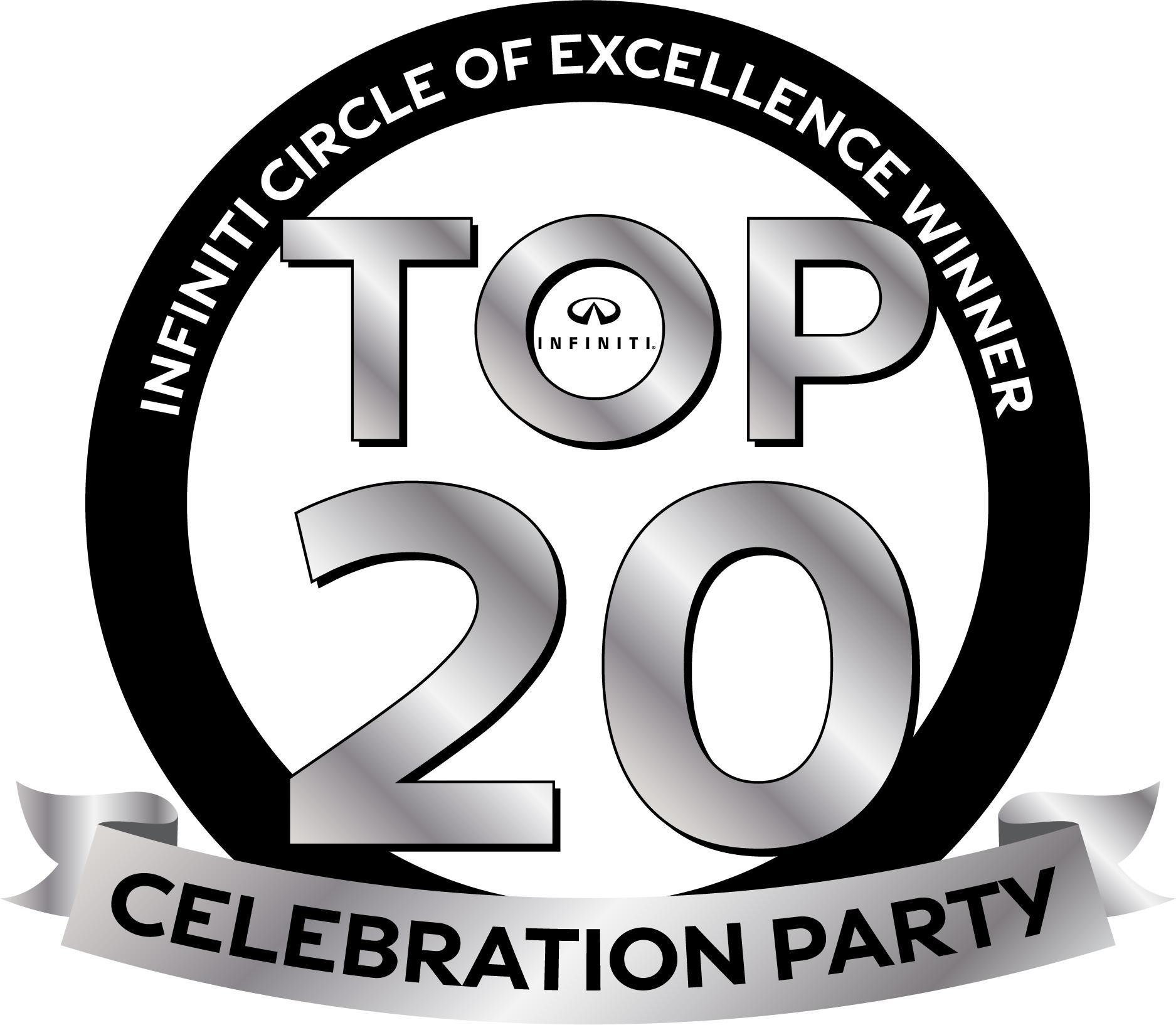 INFINITI Top 20 Celebration Party