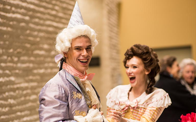 UNC School of the Arts: Mozart Birthday Concert