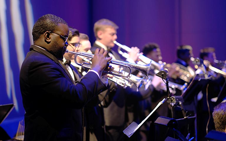 UNC School of the Arts: Trumpet Studio in Concert