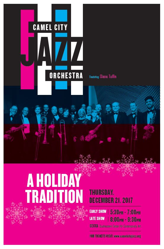 Camel City Jazz Orchestra Holiday Concert