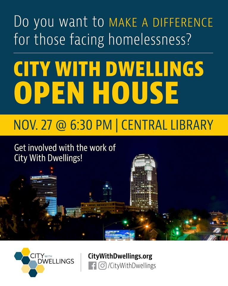 City With Dwellings Open House