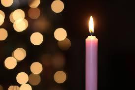 Advent candlelight worship