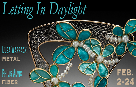 """Letting in Daylight"" Exhibit at Piedmont Craftsmen"