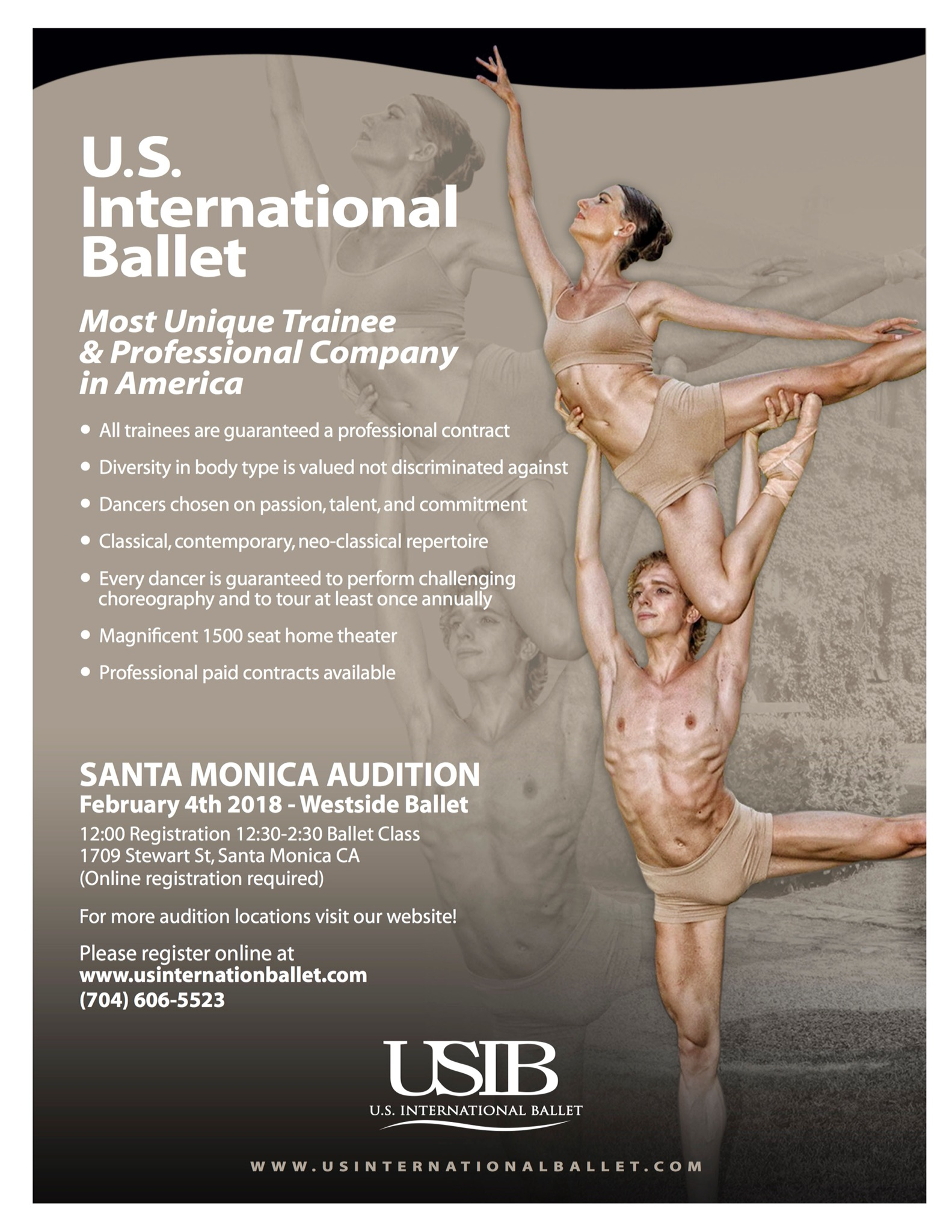 U.S. International Ballet Audition