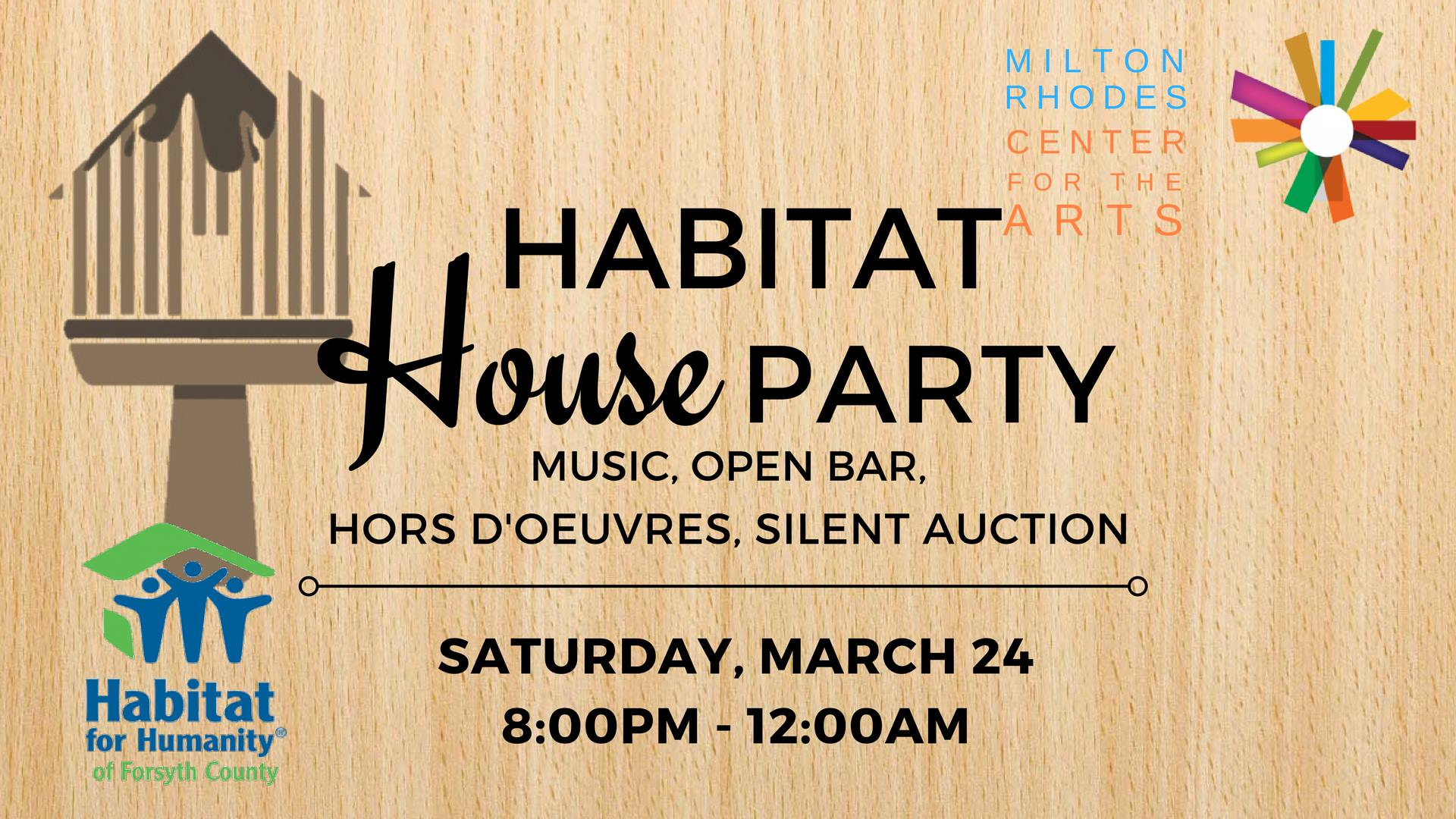 Habitat for Humanity House Party