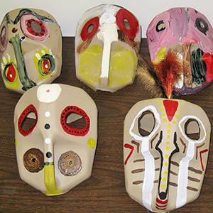 Cultures Up Close: Masks Revealed