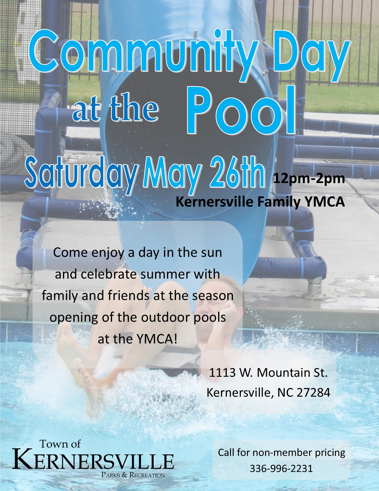 Kernersville Community Day at the Pool