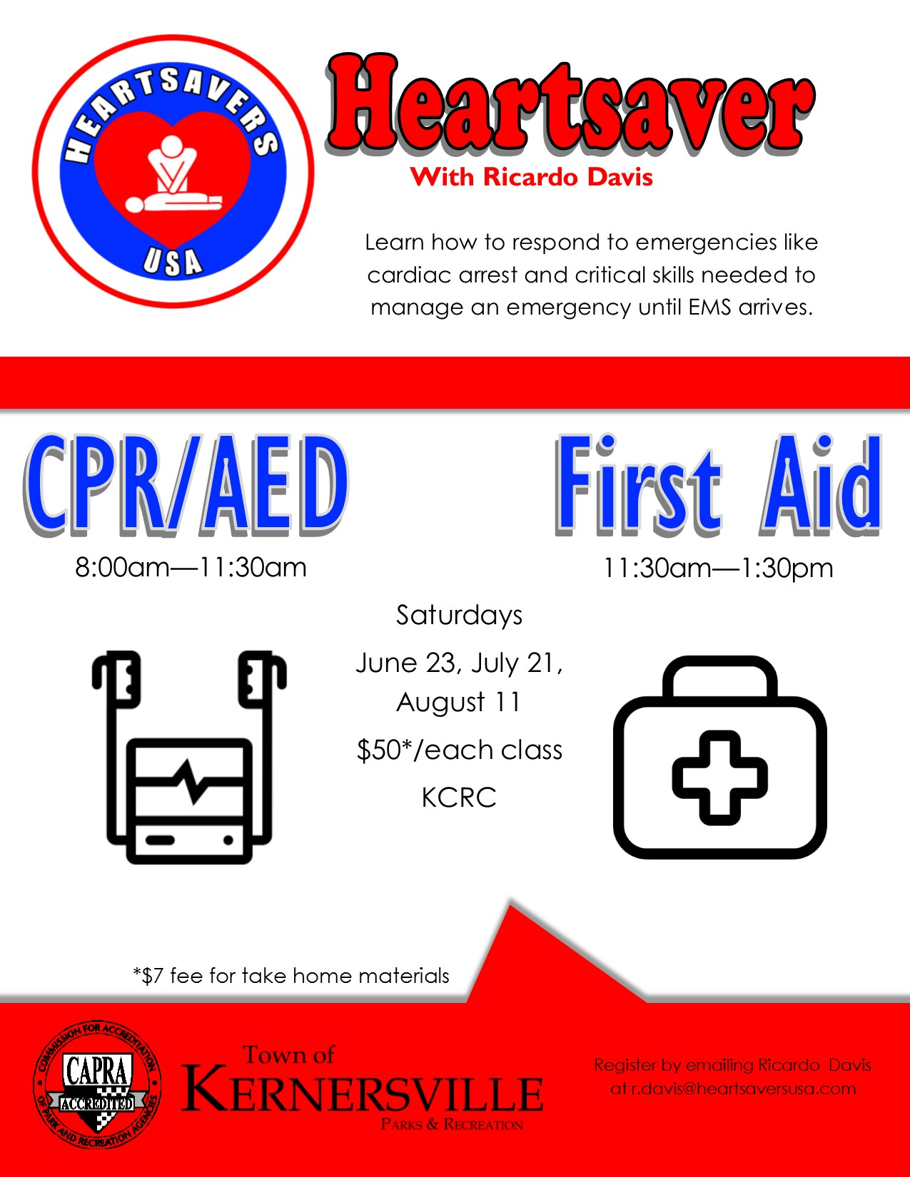 Heartsaver First Aid & CPR/AED Certification