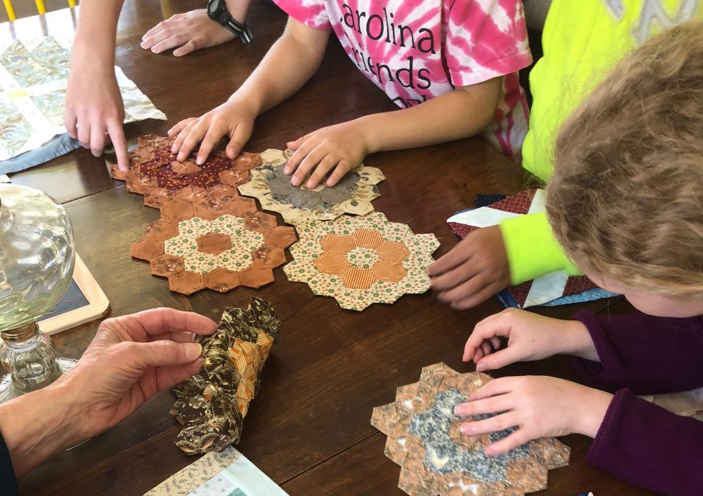 """Quilting Frolic"" Day at the John Vogler House in Old Salem"