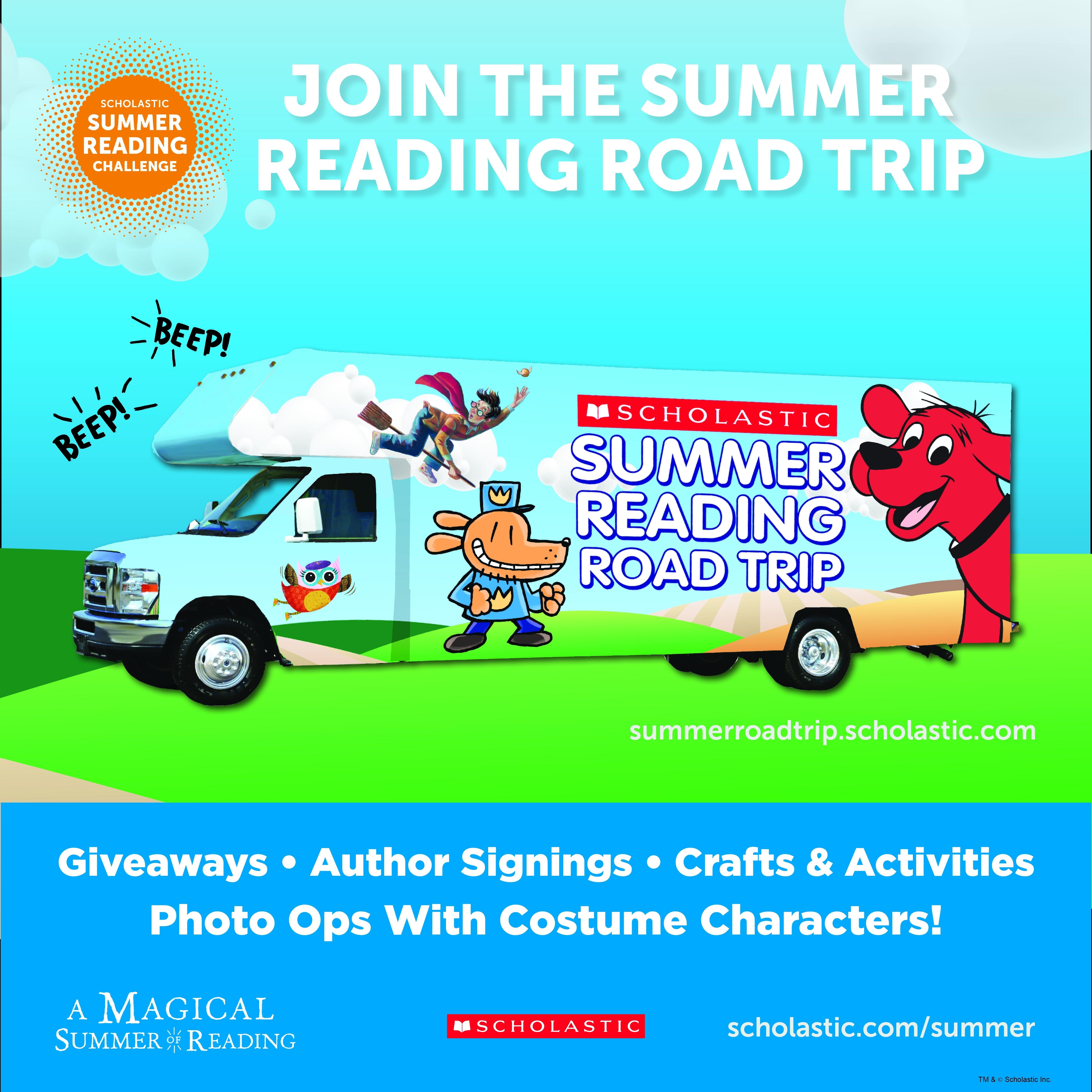 Scholastic Summer Reading Road Trip