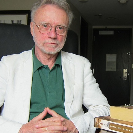 Author John Crowley for the Dillon Johnston Writers Reading Series