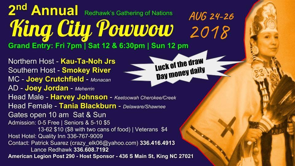 RedHawks City of Kings Powwow