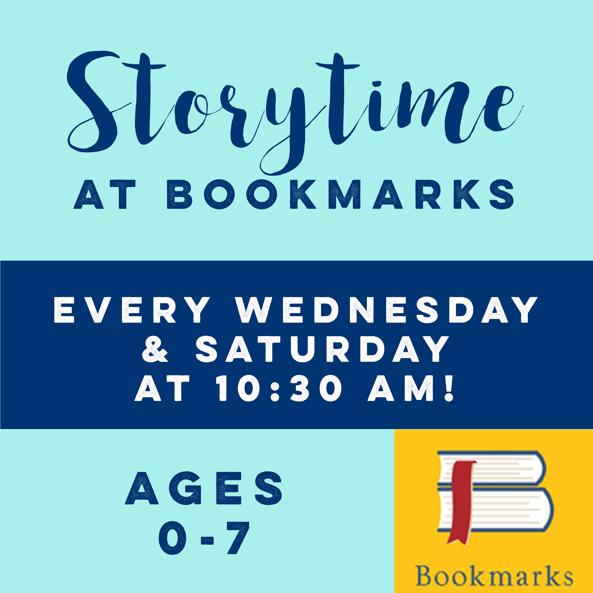 Storytime at Bookmarks: Stories about Friendship