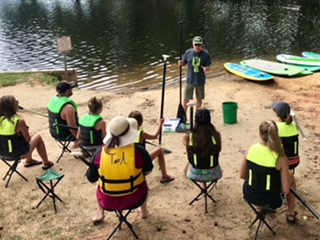 LEARN TO PADDLE-BOARD SOON !