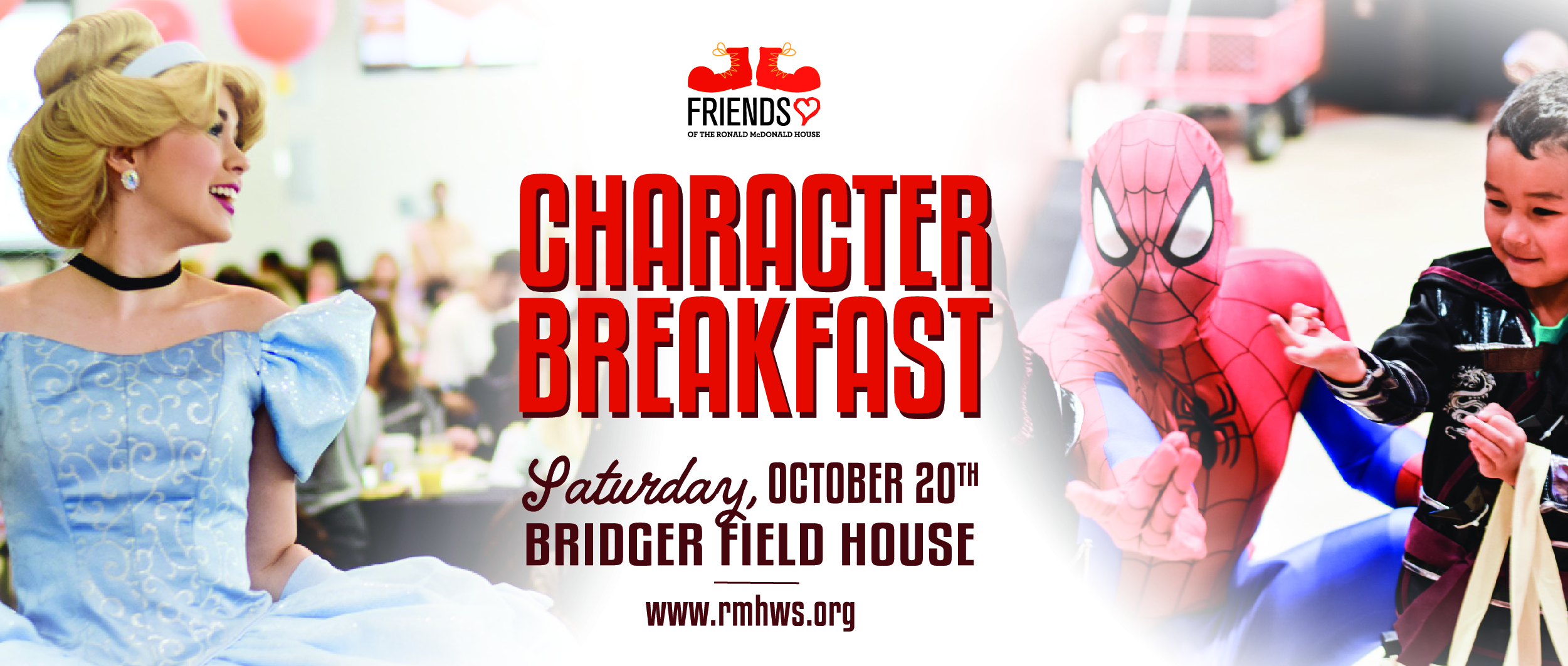 Ronald McDonald House Character Breakfast