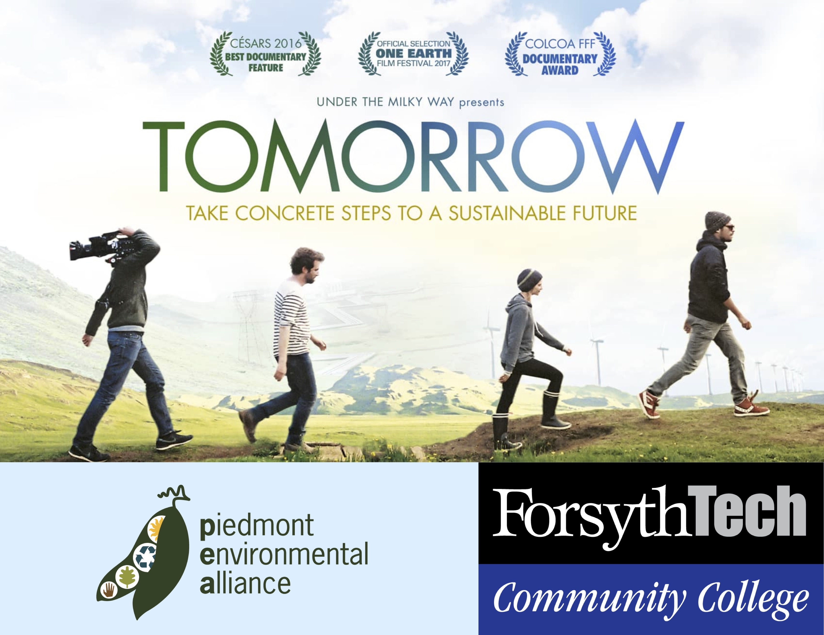 'Tomorrow' Documentary Screening & Discussion with Piedmont Environmental Alliance