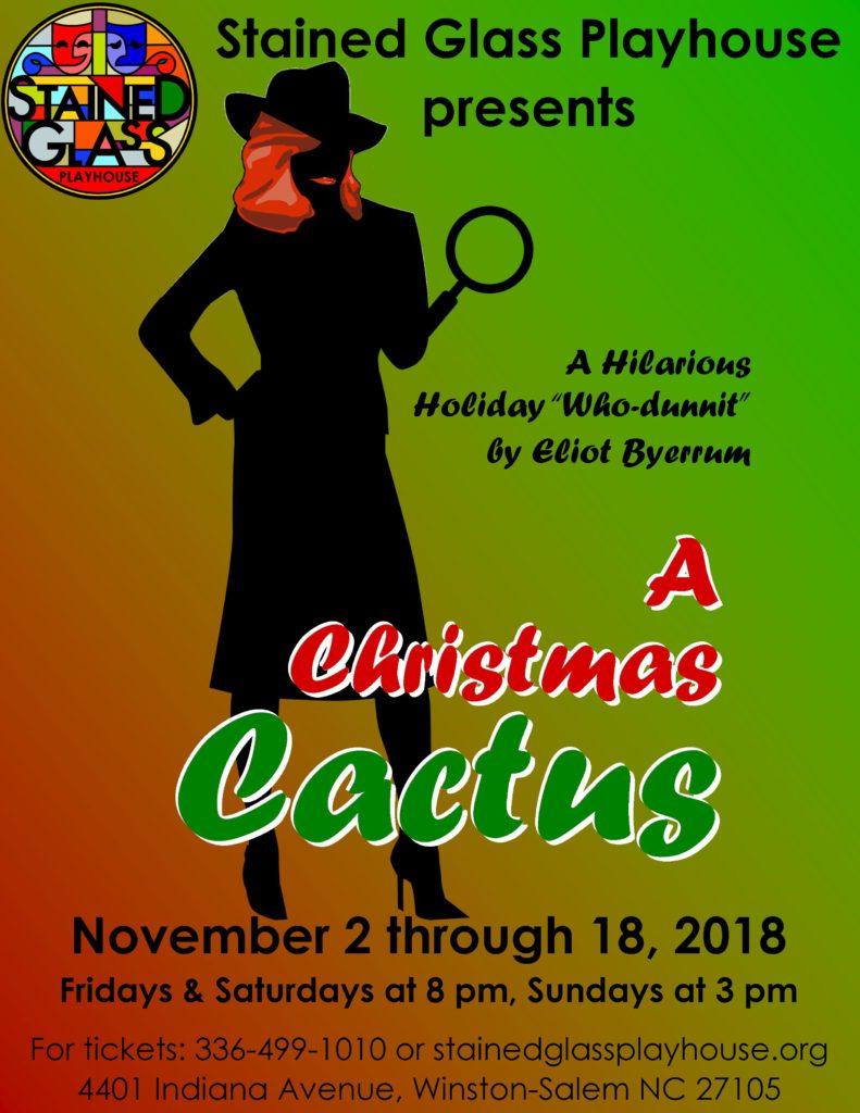 """Christmas Cactus""-comedy/mystery play"