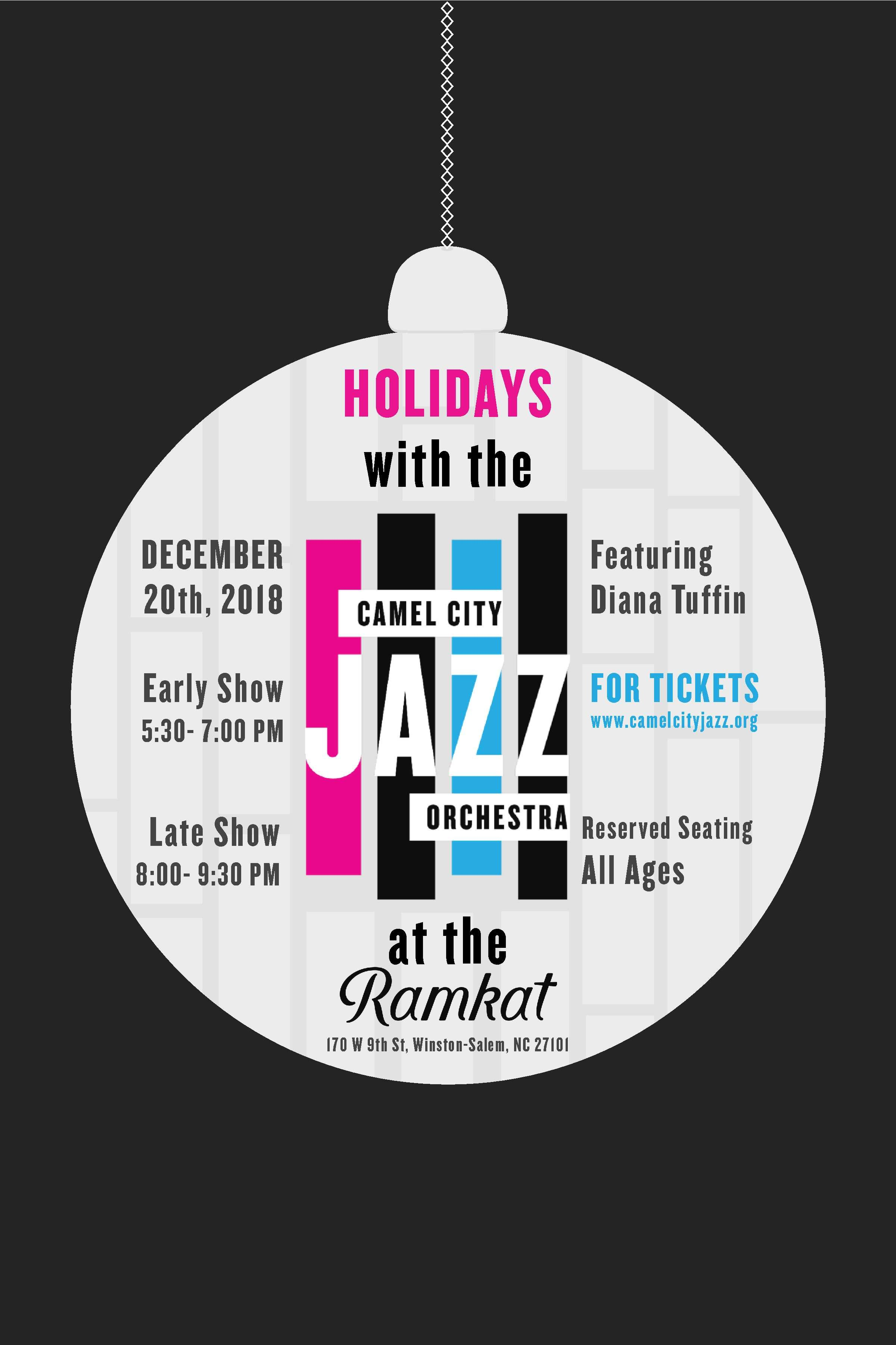 Holidays with Camel City Jazz Orchestra at The Ramkat
