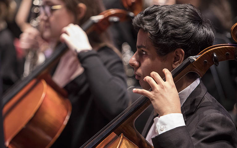 UNC School of the Arts: Symphony Orchestra: Barber, Mozart and Beethoven