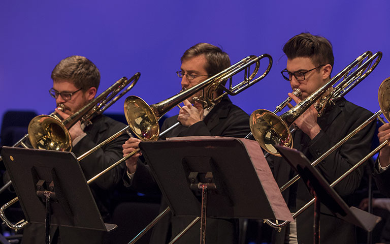UNC School of the Arts: Trombone Studio Recital: Heavenly Trombones