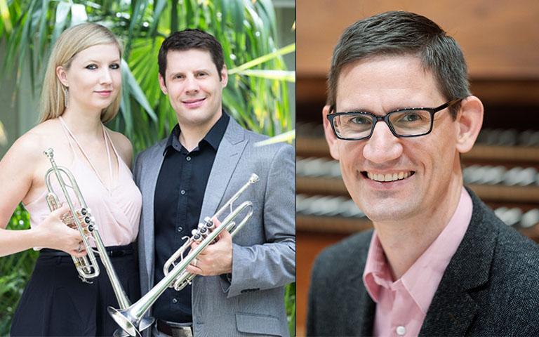 UNC School of the Arts: Brilliant Trumpets and Organ
