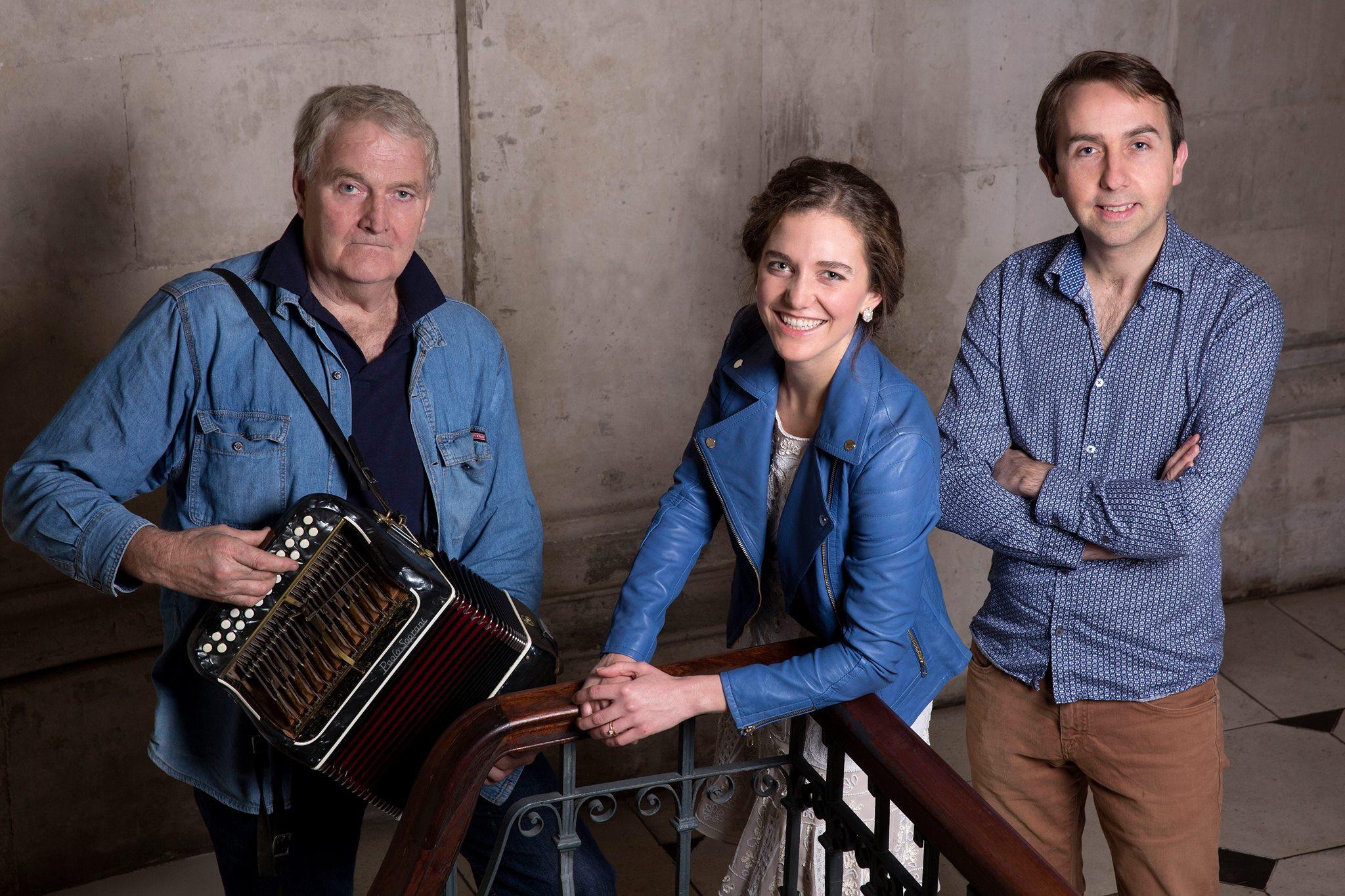 Fiddle & Bow Society presents: Oisin MacDiarmada, Seamus Begley & Samantha Harvey