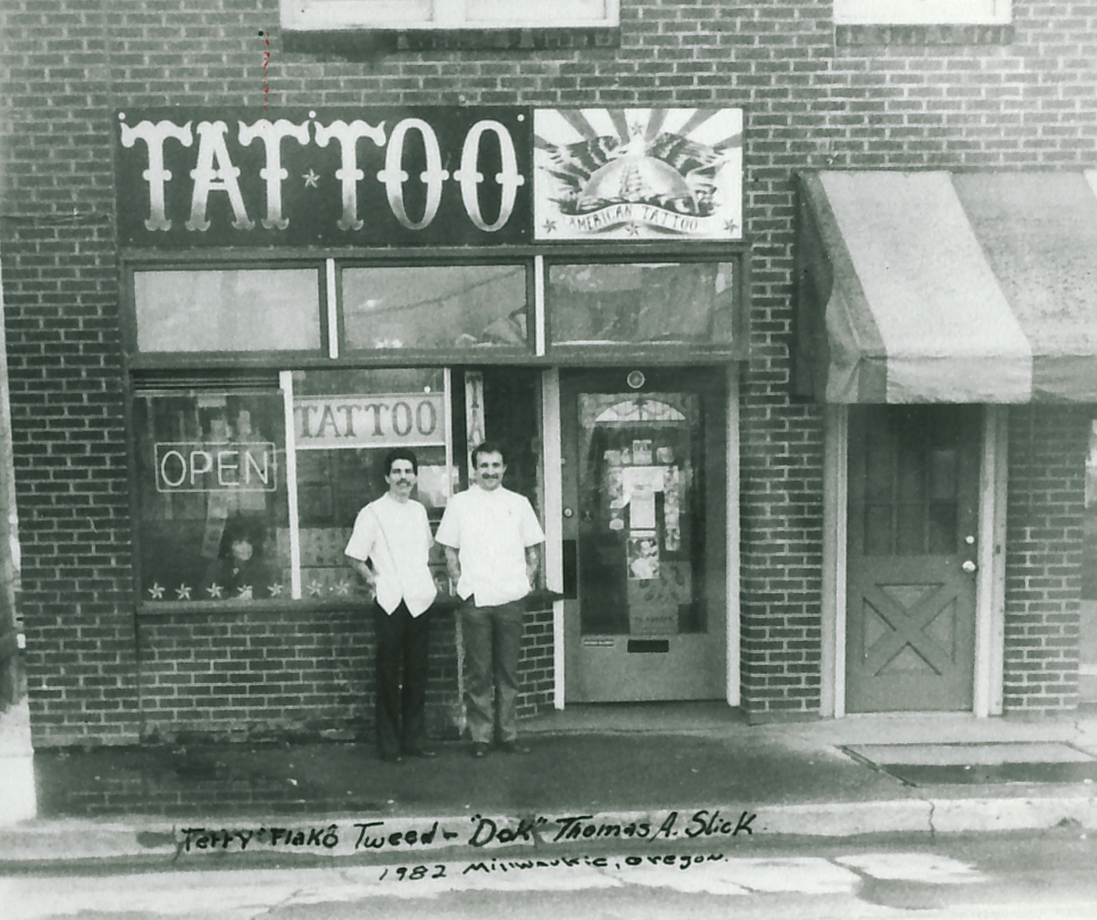 Tattoo Shop Fronts