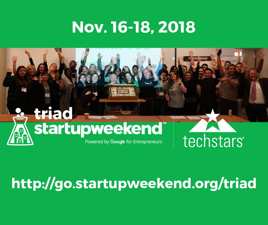 Techstars Triad Startup Weekend