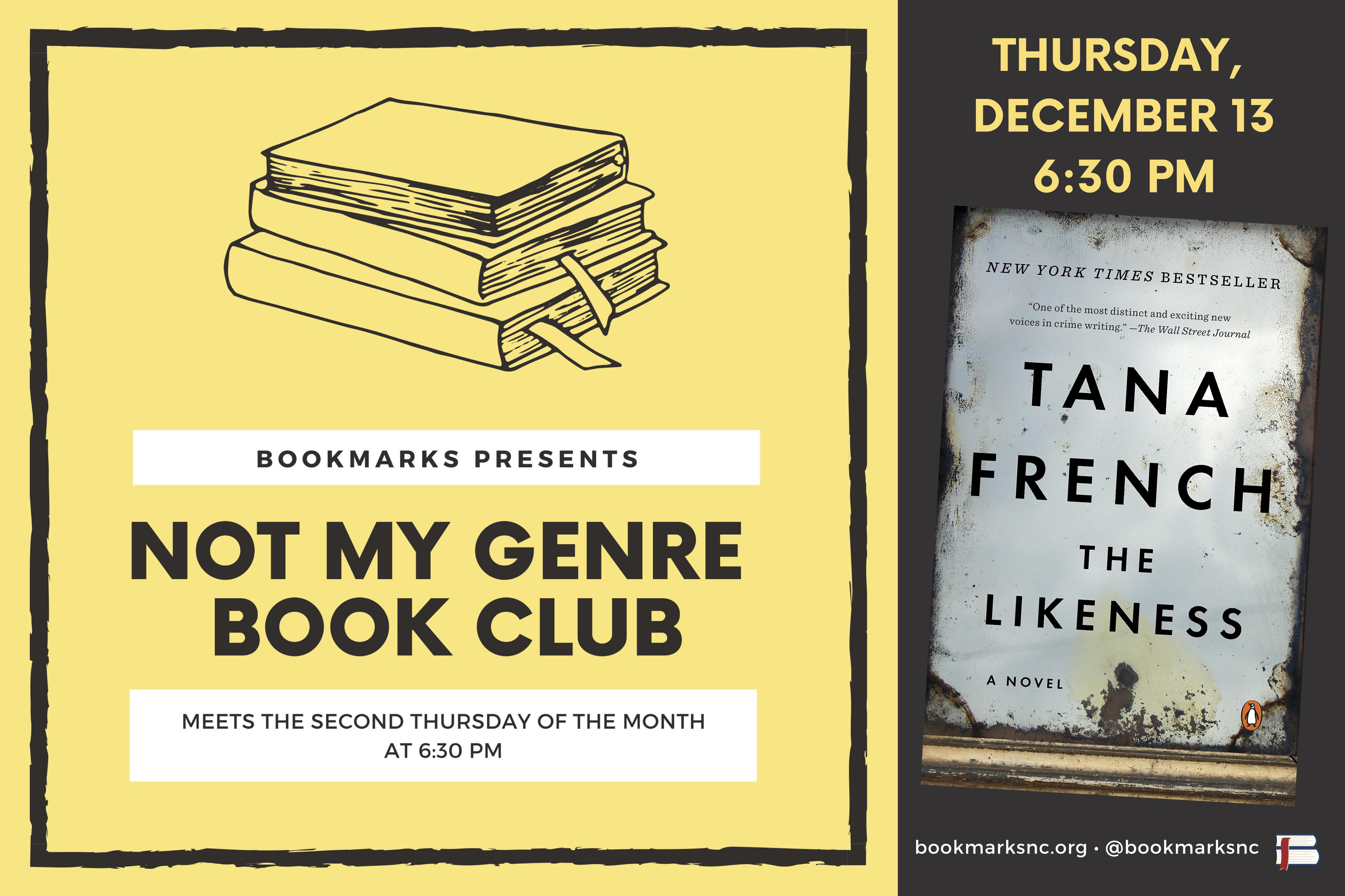 Not My Genre Book Club