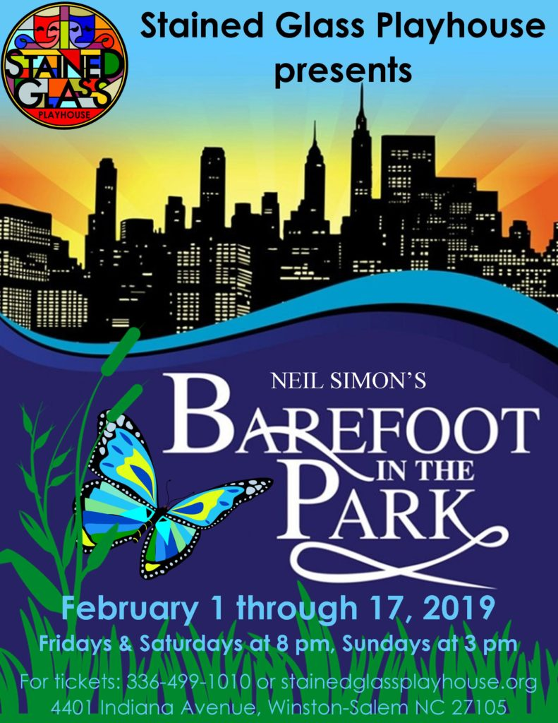 """""""Barefoot In the Park"""" play"""