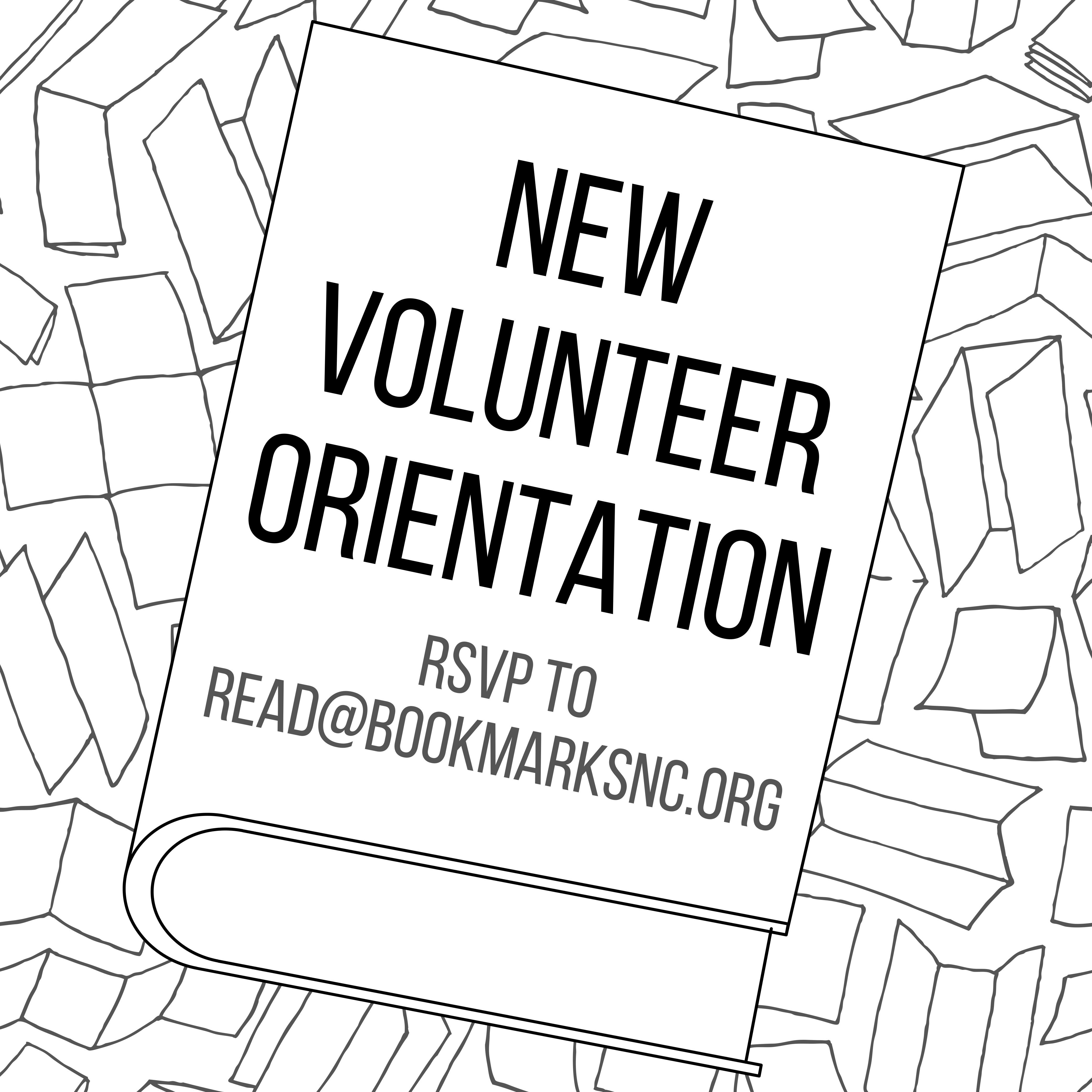 New Volunteer Orientation at Bookmarks