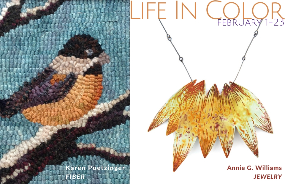 Life In Color Exhibit at Piedmont Craftsmen