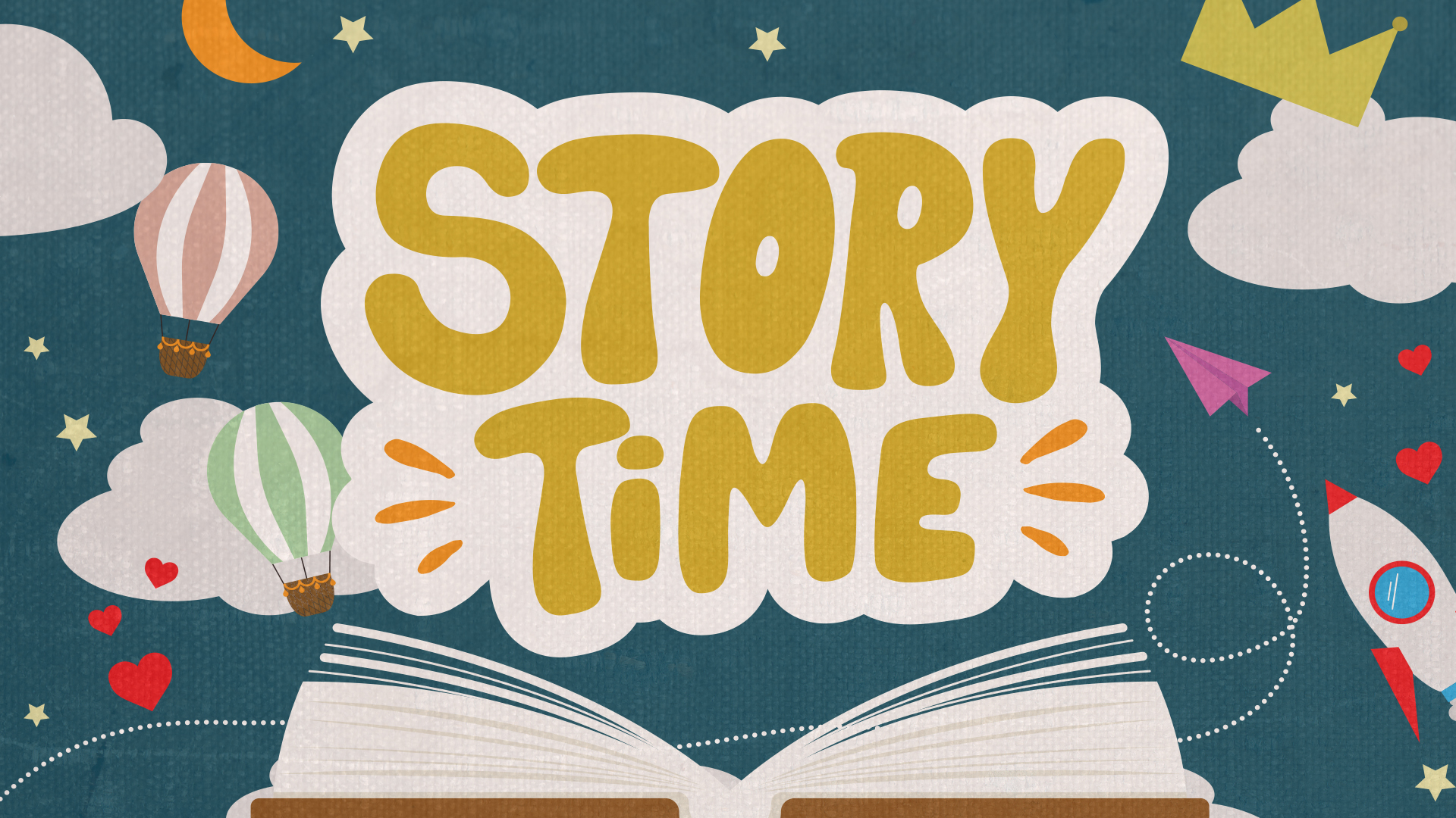Story Time at Mast General Store