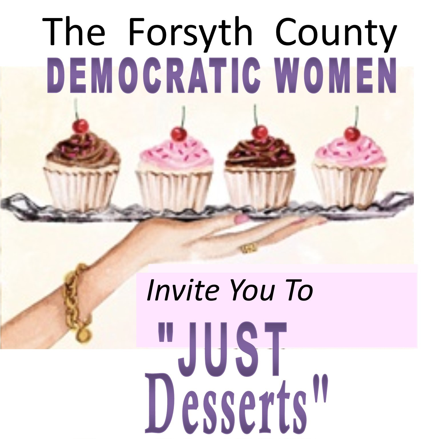 "Forsyth County Democratic Women ""Just Desserts"""