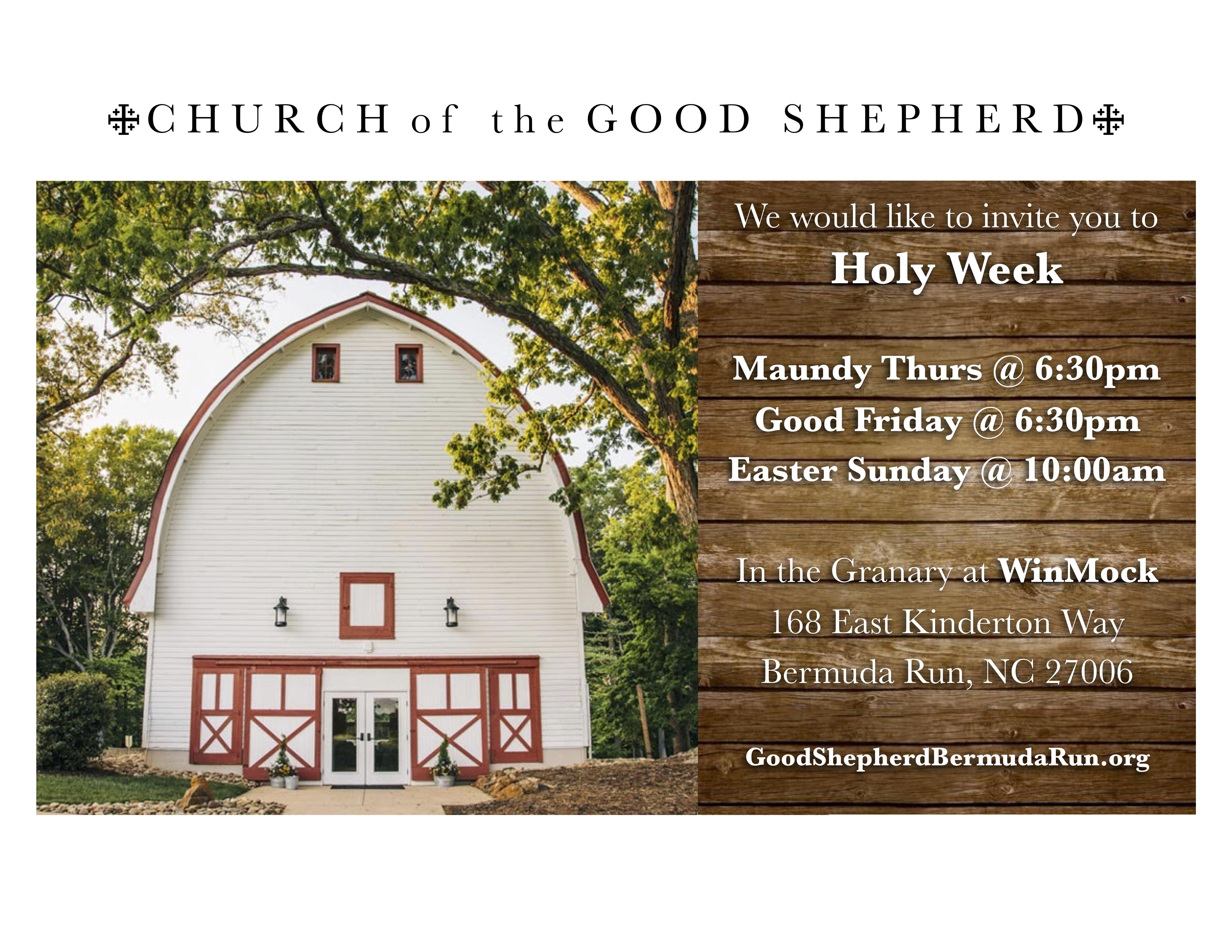 Easter Sunday at Good Shepherd