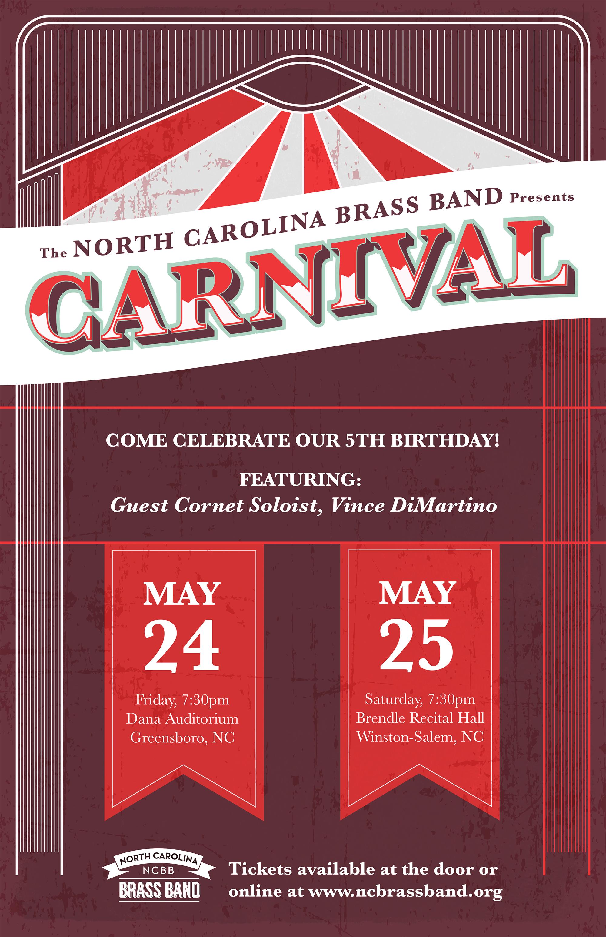 NCBB Carnival! concerts