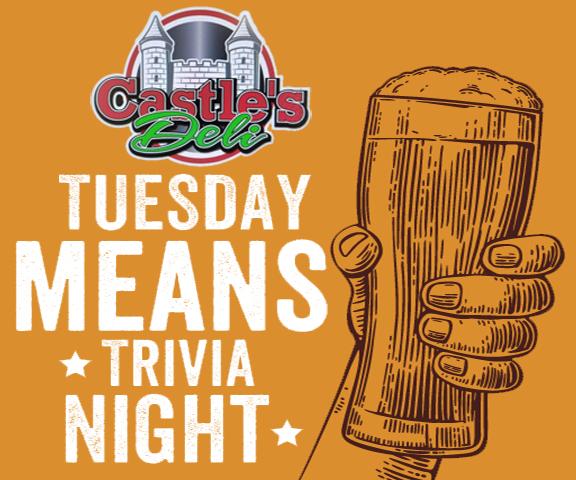 Trivia Tuesday at Castle's Deli