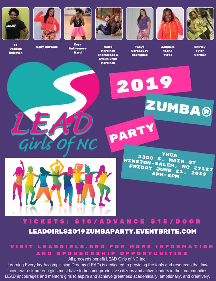 LEAD Girls Zumba Party TODAY