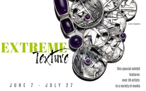 Extreme Texture at Piedmont Craftsmen
